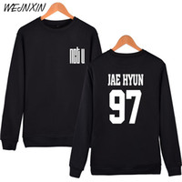 Wholesale clothes young men - WEJNXIN NCT U Hoodies For Men Women Unisex Fans Fleece Pullovers Streetwear NCTU TEN JAE HYUN MARK YOUNG Sweatshirt Clothing