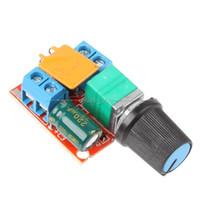 motordrehzahlschalter großhandel-Freeshipping 3 V 6 V 12 V 24 V 35 V DC Motor PWM Drehzahlregelung Controller Drehzahlschalter LED Dimmer fan lampenbeleuchtung