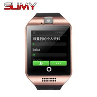 Wholesale cheapest wifi card - Slimy Cheapest Wifi Smart Watch for Men Women Kids Android 4.4 OS Wristwatch Support 2G 3G WIFI Nano SIM Card GPS Smartwatch