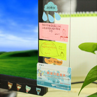 bilgisayar notu toptan satış-YENI temizle Bilgisayar Monitör Not Kurulu çıkartmalar memorandum notları çıkartmalar yaratıcı ofis masası kırtasiye malzemeleri Memo Pedleri Kurulu