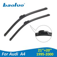 Wholesale a4 b8 - BAOLUO Windshield Wiper Blades For Audi A4 B5 B6 B7 B8 B9 1994-2018 High Quality Natural Rubber Windscreen Car Accessories