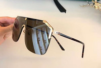 Wholesale butterfly inspired fashion resale online - designer inspired S gold brown Sunglasses unisex Sonnenbrille des lunettes de soleil luxury Designer glasses Gafas de sol New