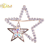 d79db3fffe4 trendy brooches 2019 - ZHIXI Simple And Stylish Brooch Jewelry Shiny Zircon Jewelry  Brooch Brooches For