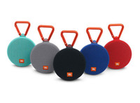 Wholesale high quality wireless speakers - JBL clip2 Bluetooth Speaker Portable Wireless Speakers Outdoor Waterproof Subwoofer Powerbank 800mAh Battery Charge3 In Stock high quality