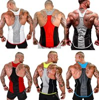 1e91f4316f4f8 Wholesale mens polyester tank tops for sale - Summer GYM Fitness Tank Top  for Mens Tanks