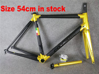 Wholesale Bicycle Frame Design - Colnago C60 frame carbon frameset road bike Frame carbon bicycle black color design frameset high quality A01