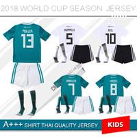 MULLER OZIL camisa de futebol DRAXLER 2018 COPA DO MUNDO KROOS HUMMELS  WERNER SANE camisa de futebol crianças kit camiseta alemanha KIMMICH GeRMany 18d9829d3aaf9