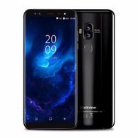 Wholesale fingerprint identification - Blackview S8 Mobile Phone 5.7 Inch 18:9 MTK6750T Octa Core 4GB+64GB Fingerprint Identification Android 7.0 4G Cell Phone