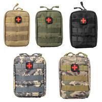 botiquines de primeros auxilios al por mayor-Equipo de primeros auxilios 600D Kit de supervivencia táctica Molle Rip-Away Bolsa de bolsa EMT