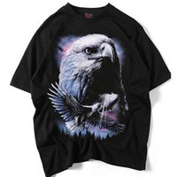 Wholesale punk clothing styles resale online - 19 styles Summer clothing for man printed hip hop punk rock t shirt streetwear outdoor clothing S XXL good