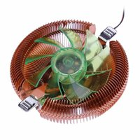 Wholesale Cpu Am3 - Universal LED CPU Cooler Cooling Fan Heatsink with Holder for Intel AMD 775 1150 1155 1156 AMD754 959 AM2 AM3