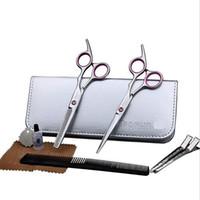 kits de cisailles professionnelles achat en gros de-Coupe de cheveux de salon de coiffure de professionnel 6
