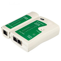 Wholesale utp cable tools resale online - New Hot RJ45 RJ11 RJ12 CAT5 CAT UTP Network Lan Cable Tester Test Tool QJY99
