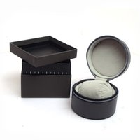 High Quality round watches leather Boxes Gift Box leather Watch Box Mens Watches box watches boxs cases tag boxs Top Quality