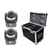 Wholesale 2 Pack W LED Moving Head Light face Prism Spot Light With Rotation Gobo Function For DJ Disco Stage Projector