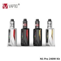 Wholesale lite electronics for sale - Group buy Electronic cigarette Vape kit Vaptio N1 pro W Lite Starter kit ml ml with Frogman Tank coil and support mod