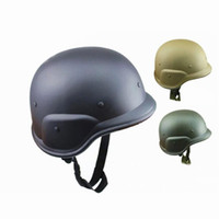 камуфляжный пластик оптовых-1pcs Solid M88 ABS plastic camouflage helmet tactics CS US  field army combat motos motorcycle helmets