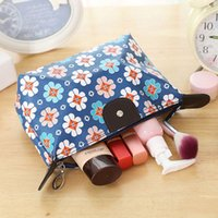 Wholesale yellow floral print for sale - Group buy Pink sugao new style large capacity makeup bag cosmetic bags for travel storage organizer women purser