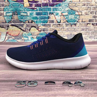 Wholesale shoes men free air online - 2018 New Men Women Free Run V Running Shoes Shoes Good Quality Lace Up Air Mesh Breathable Sport Jogging Sneakers Shoes
