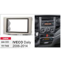 ingrosso fascia di autoradio-Carav 11-745 Car Radio Panel per IVECO Daily 2006-2014 Stereo Dash CD Trim Kit di installazione