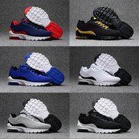 Wholesale Cushion Factory - 2018 Factory outlet Men Air Cushion 95 Running Shoes Authentic Sports Shoes For Men Top Sneakers designer shoes