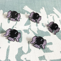 Wholesale witches balls online - 10pcs Loll3 Spooky Halloween Pins and Brooch Lapel Badge Magic Witch Lucky Enamel Pin Fortune Ball
