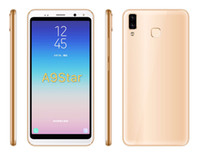 Wholesale 512mb ram android phones resale online - 512MB Ram Rom Inch A9 star Cellphone MTK6580M Quad core G Android Operating System Cellphone mAh Battery Capacity Phone