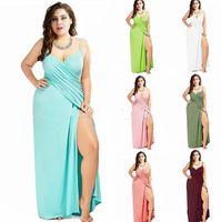 Wholesale Girls Beach Cover - Plus Size women bikini cover Beach Long Dress Pareos Women Sarong Backless Bikini Cover Up Beach Wrap Dress Summer LJJK849