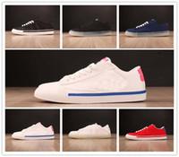 Wholesale grey blazers for men - 2018 Newest brand blazer Style Designer skatebording blue white for men women running shoes size 36-45 fastest shipping