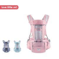 portabebés ergonómicos al por mayor-Love Little Me 2018 Nueva llegada Ergonómico Transpirable Portabebés Hipseat Envoltura para bebés Sling Kangaroo para recién nacidos 0-36 meses