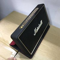 Wholesale A quality Marshall bluetooth speaker stereo subwoofer with low pitch adjustment portable wireless speaker with