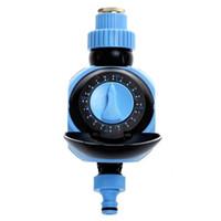 controlador de agua de riego al por mayor-Impermeable Dial Pointer Home Garden Regulador del Regulador del Riego por Agua Riego Automático Misting Drip Irrigation Timmer Envío Gratis NB