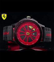 Wholesale Wristwatch Cars - Men's luxury sports car brand watch F1 sports watch high quality fashion car dial shape quartz watches Masculino clock Relogio Wristwatches