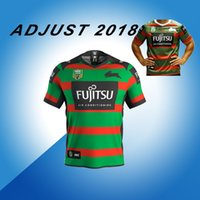 Wholesale rabbit s - 2018 NRL JERSEYS Australia Commemorative RABBITOHS Rugby 2018 19 seasons South Sydney rabbit Rugby jerseys rugby shirts JERSEY size S-3XL
