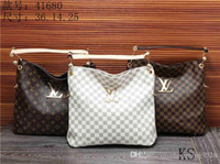 Wholesale Purses Brand Names - 2018 styles Handbag Famous Designer Brand Name Fashion Leather Handbags Women Tote Shoulder Bags Lady Leather Handbags Bags purse 41608