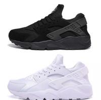 ec670553bade New 2018 Air Huarache Ultra Drift Running Shoes Men Women Huaraches Classic  White Black Huraches Mens Trainers Hurache Sneakers Size 36-46