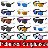 kadınlar için tasarım tonları toptan satış-Popüler Tasarımcı Erkekler ve Kadınlar için Polarize Güneş Gözlüğü Açık Spor Bisiklet Sürüş Güneş Gözlükleri Yaz için Güneş Gölge Güneş Gözlüğü