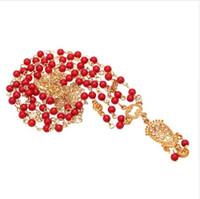 ingrosso gioielli indiani della fascia dei capelli-Decorazione di capelli Fascia per capelli Testa di testa Moda indiana Boho bianco / rosso in rilievo Testa pezzo Donna Testa catena gioielli per capelli da sposa