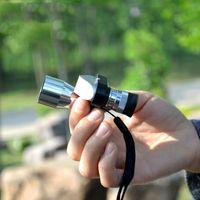 Wholesale eyepiece telescope hd online - 8x20 monocular Mini Pocket HD Corner Optical Monocular Telescope Eyepiece for Scientific Bird watching Wilderness Expedition