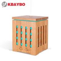 oficina de terapia al por mayor-KBAYBO 200 ml Difusor de aceite esencial Difusor ultrasónico de terapia con 7 luces de colores LED y apagado automático sin agua