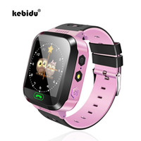 ingrosso orologio remoto nuovo-vendita all'ingrosso New Smart Watch Orologio da polso per bambini Touch Screen GPRS Locator Tracker Anti-Lost Smartwatch Baby Watch con chiamate SIM remote