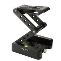 faltplattenhalter großhandel-Aluminiumlegierung Falten Z Flex Tilt Head Kugelkopf Falten Schnellwechselplatte Kamera Ständer Halter für Nikon Canon DSLR