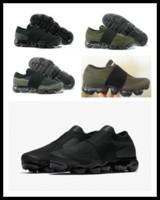 Wholesale Mens Grey Leather Belt - 2018 New Vapormax moc black belt Mens Running Shoes For Men Sneakers Women Fashion Athletic Sport ShoeWalking Outdoor Shoe