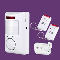 Wholesale security systems wholesalers online - Portable dB PIR Motion Detector Infrared Anti theft Motion Detector Home Security Alarm System Controllers