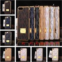 étui arrière pour samsung s6 edge achat en gros de-Lettre plaqué cas blindé antichoc cas en plastique dur couverture arrière pour iphone 7 8 plus 6 6s plus 5 Samsung s6 s7 bord s8 plus chaud