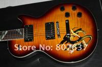 g e-gitarren standard großhandel-2011 Großhandel G Custom Shop schlange griffbrett E-gitarre benutzerdefinierte slash standard gitarre Kostenloser versand