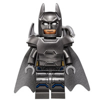 Wholesale armor models - WholeSale 20pcs Armor Batman Bruce Wayne Movie Justice League DC Super Heroes Model Minifig Model DIY Building Blocks Kids Toys Gift