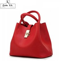 Wholesale candy buckets red for sale - Group buy 2018 New Vintage Women s Handbags Famous Fashion Brand Candy Shoulder Bags Ladies Totes Simple Women Messenger Bags