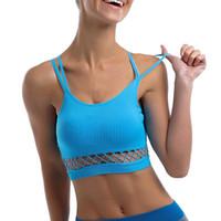 f6b8557b76 Fitness Women Sport Brassiere Sexy Sports Bra Womens Fitness Yoga Gym Sport  Bra Top Wirefree Gym Bras sujetador deportivo