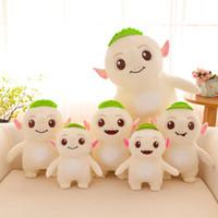 ingrosso sostenere la bambola-Alta qualità Cartoon Monster Hunt 2 Wuba Plush Doll Cute Bolster Bambini farciti Giocattoli per bambini regalo